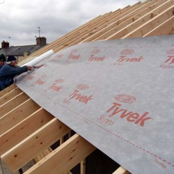 Tyvek ® Supro made by DuPont.