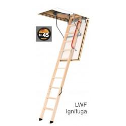 LWF ignífuga EI45, escalera...