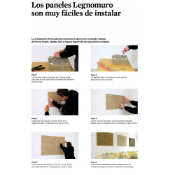 Legnomuro Abeto Portlant 29x29