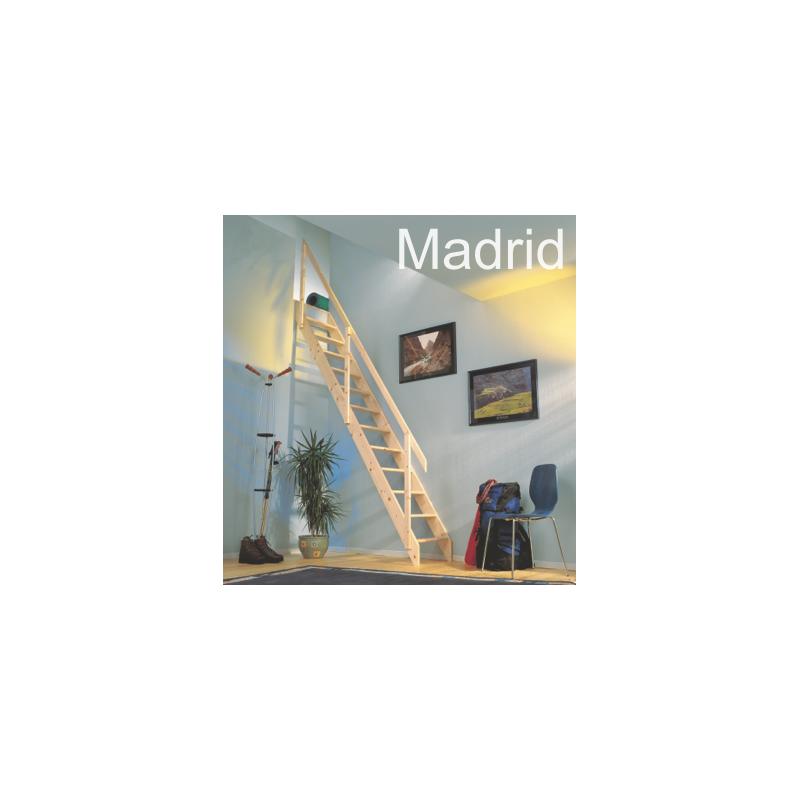 Escalera recta Madrid