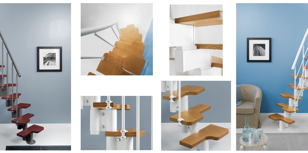 Magia, la escalera para espacios pequeños